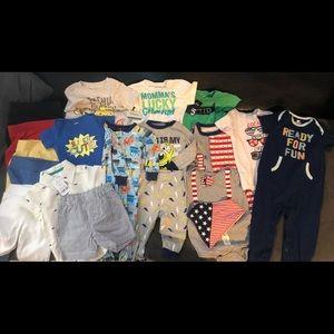 Huge bundle of 12 months Boys clothes.